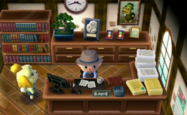 Replicated New Leaf Town Hall As Best As I Could
