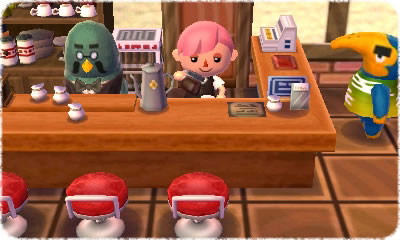 Brewster Coffee Animal Crossing