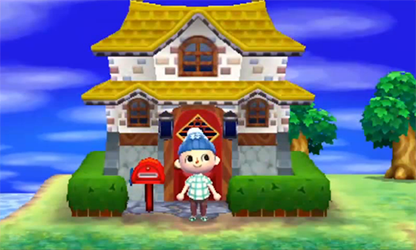 Animal Crossing New Leaf Extra Room