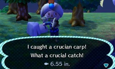 english-pun-crucian-carp