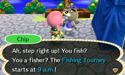 The fishing tourney in animal crossing new leaf or for Acnl fish guide