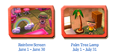 Rainbow Screen And Palm Tree Lamp Dlc Coming To North