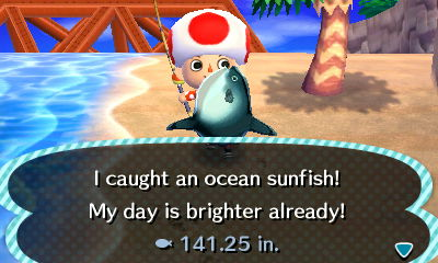 Ocean sunfish animal crossing