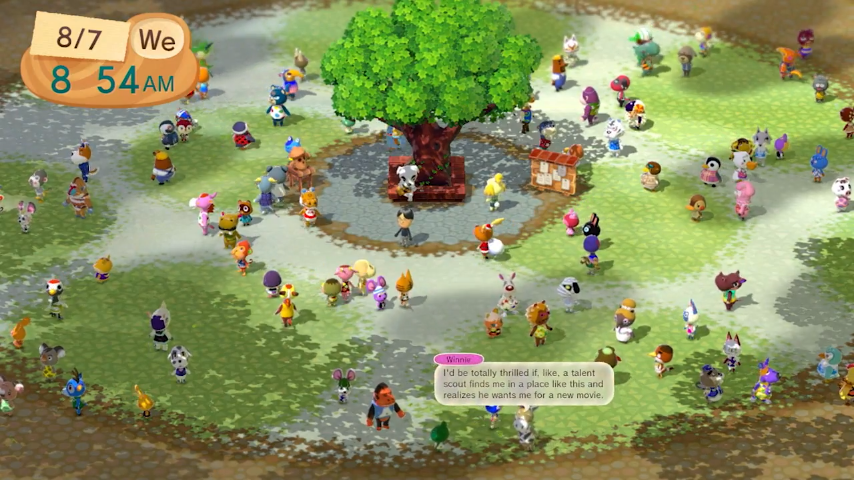 Animal Crossing Plaza now available to download on Wii U