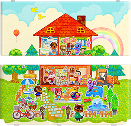 Usa h pokken tournament hhd faceplates hyrule - Animal crossing happy home designer 3ds case ...