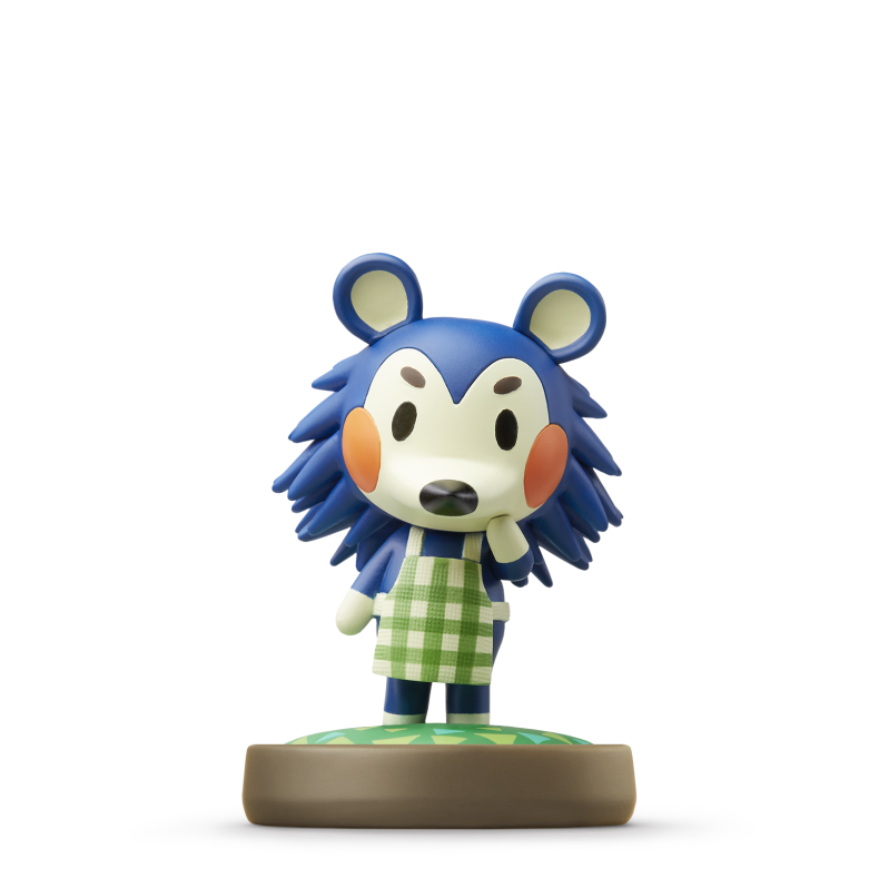 A closer look at the eight animal crossing amiibo figures - Happy home designer amiibo figures ...