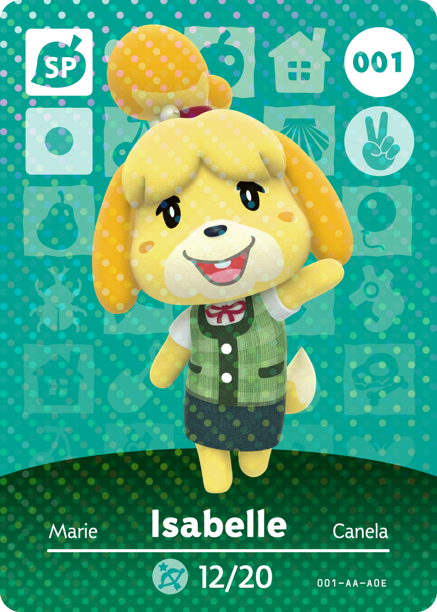 picture relating to Printable Amiibo Cards called Animal Crossing amiibo Playing cards - Sequence A person Checklist Content