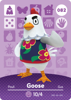 amiibo_card_AnimalCrossing_82_Goose