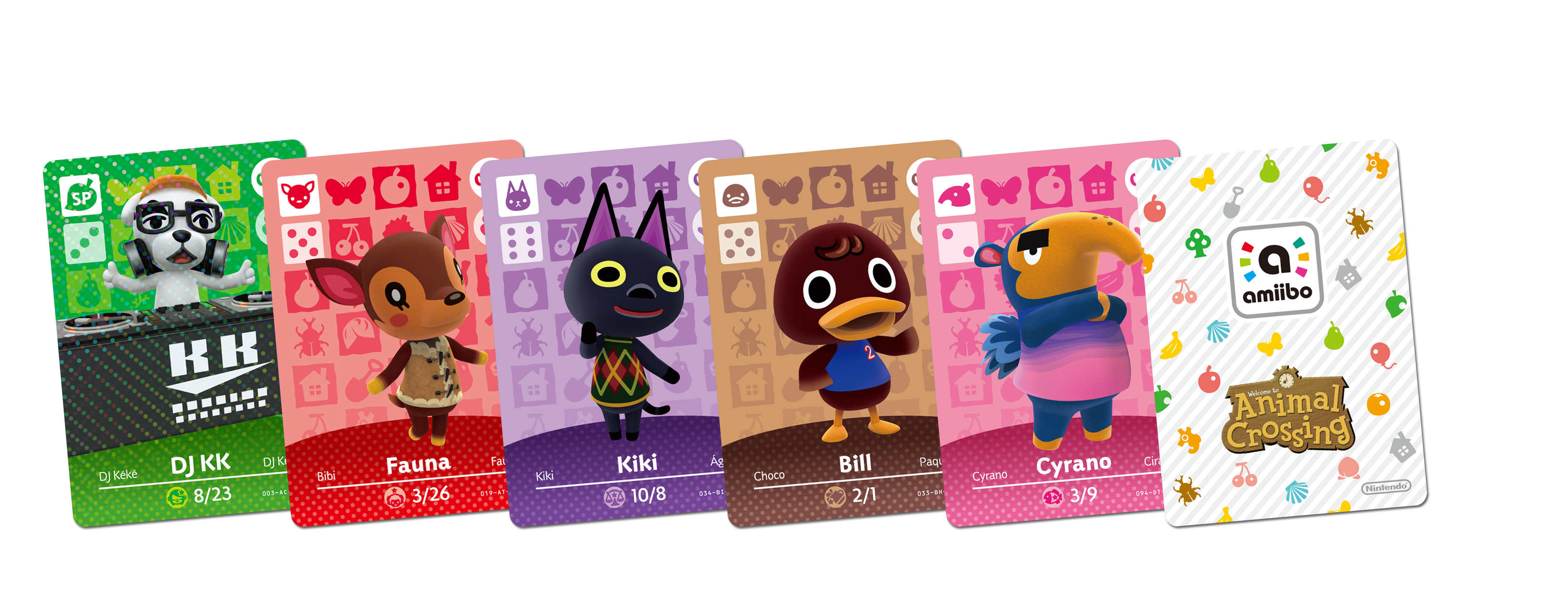 Animal Crossing Amiibo Cards Lists Information Animal Crossing World
