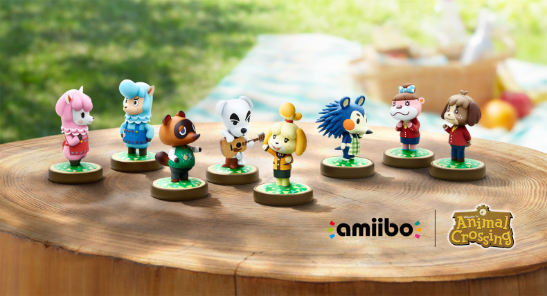 Animal crossing series amiibo figures list animal - Happy home designer amiibo figures ...