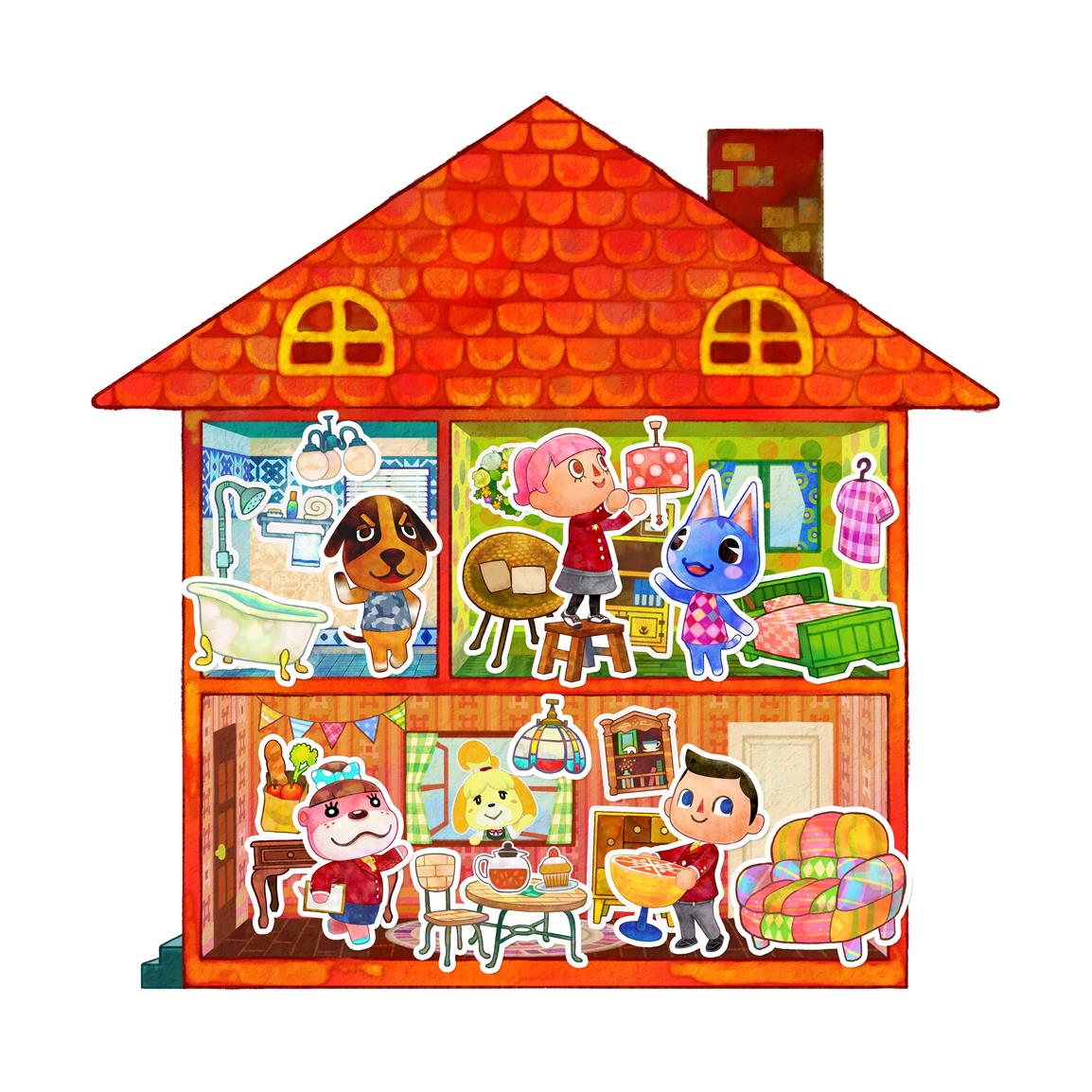 New Collection Of Official Animal Crossing Happy Home