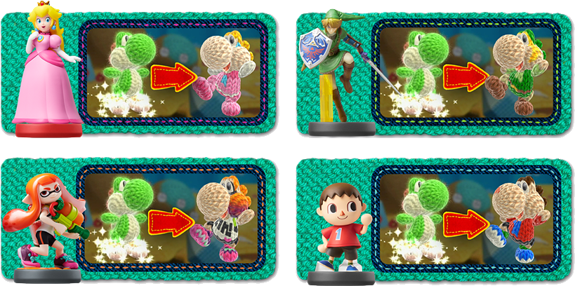 Yoshi\u0027s Woolly World launches in Europe today with a Villager amiibo cameo  , Animal Crossing World