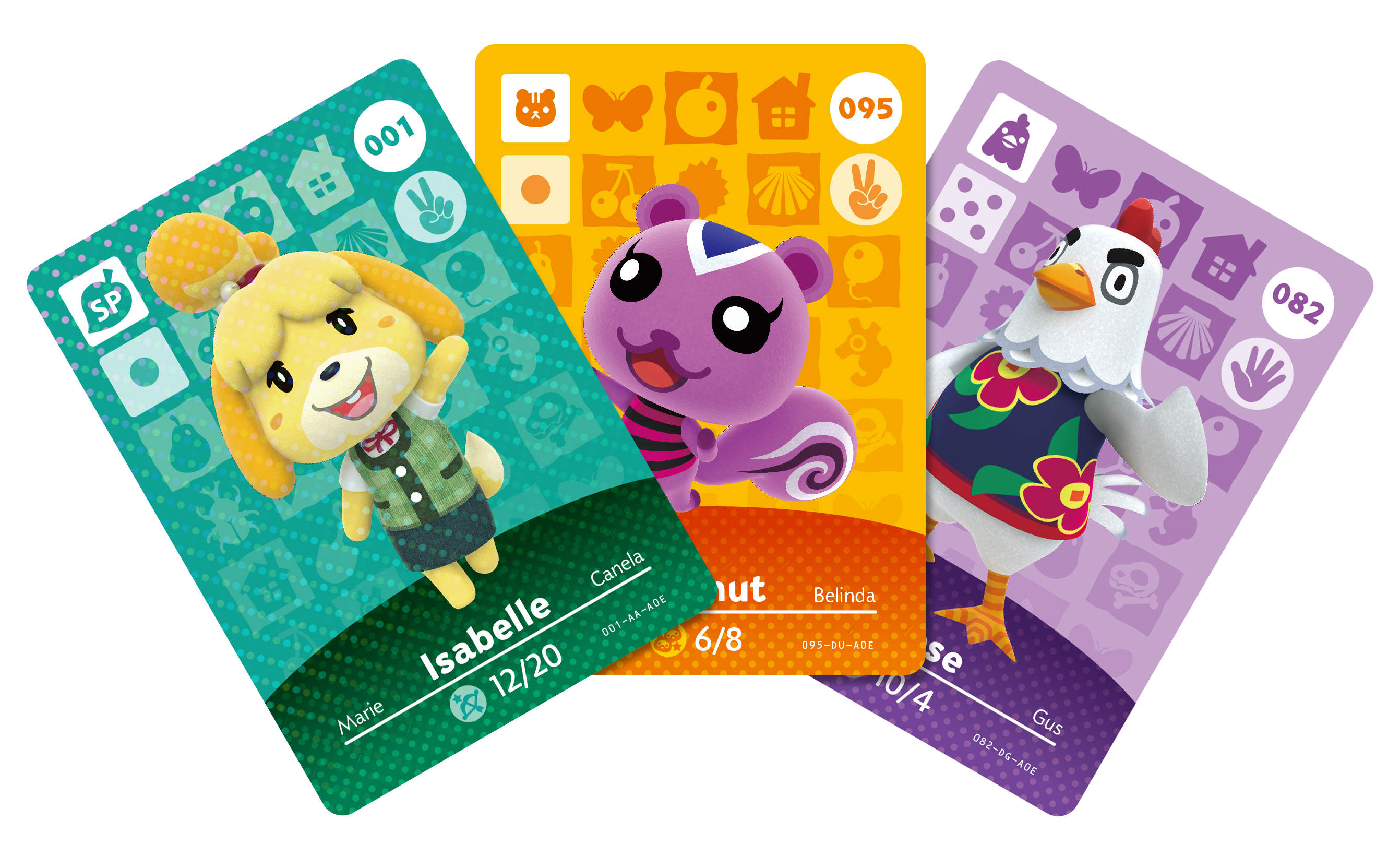 You can kind of trade furniture by using amiibo cards in - Happy home designer amiibo figures ...