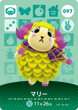 amiibo_card_AnimalCrossing_97_Willow_japanese