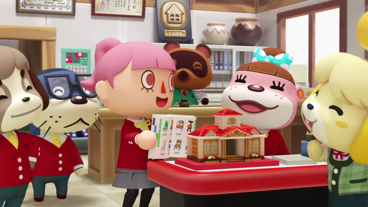 Six Animal Crossing Happy Home Designer Gameplay Videos Just Before The Japanese Release