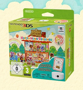 Overview Of Europe Animal Crossing Happy Home Designer Retail Packages Launching On October 2nd Animal Crossing World
