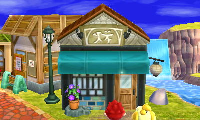 List of all public facilities and how to unlock them in animal crossing happy home designer for Animal crossing happy home designer hotel