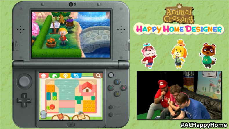 New 30 minute walkthrough of Animal Crossing: Happy Home Designer from Hyper Japan - Animal