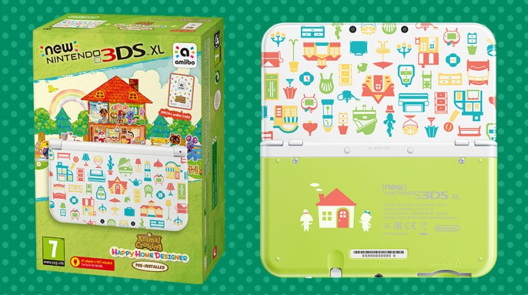 New Nintendo 3ds Xl Animal Crossing Happy Home Designer Edition Comes To Europe On October 2nd Animal Crossing World