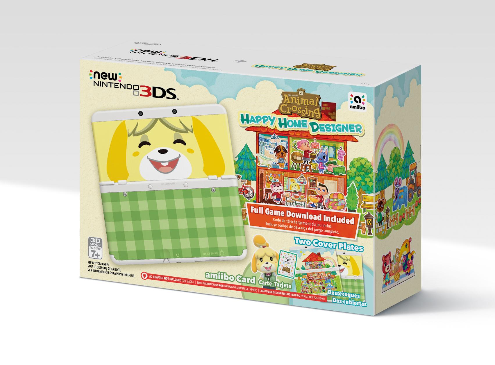New Nintendo 3DS Happy Home Designer system bundle ...