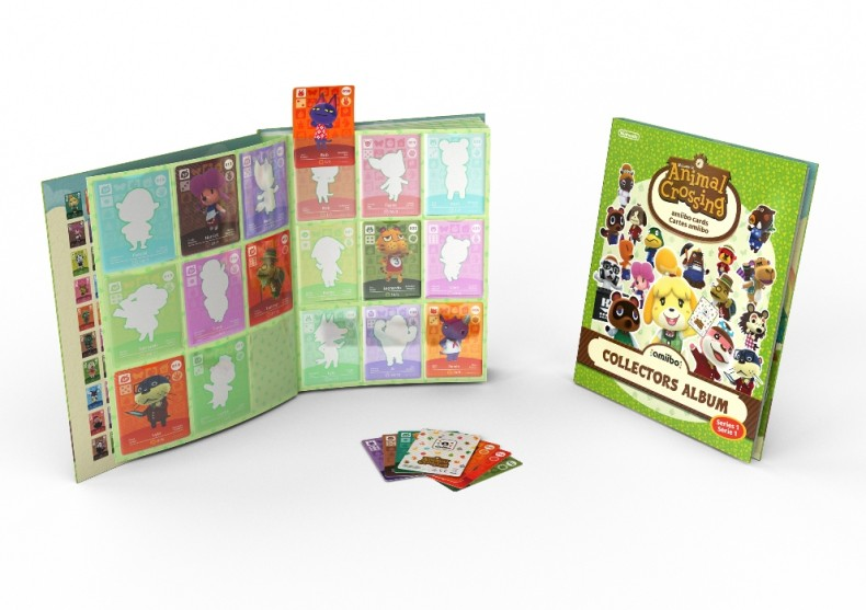 Official animal crossing amiibo cards collectors album - Happy home designer amiibo figures ...