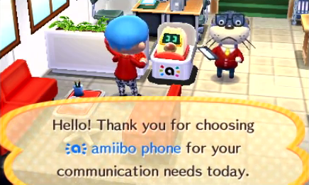 Calling Characters with Amiibo Cards and the Amiibo Phone