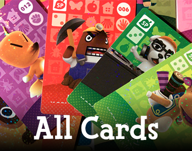 List of All Animal Crossing Amiibo Cards