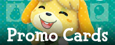 List of Promotional Animal Crossing Amiibo Cards