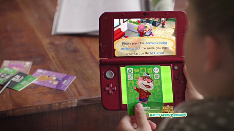 Watch This New Amiibo Card Animal Crossing Happy Home Designer Tv Commercial For North America