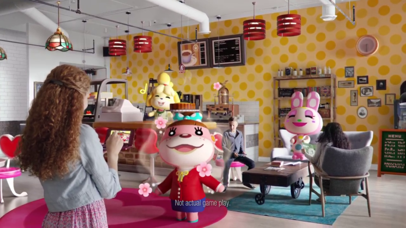 Watch This Fantastic New Animal Crossing Happy Home Designer Tv Commercial For North America