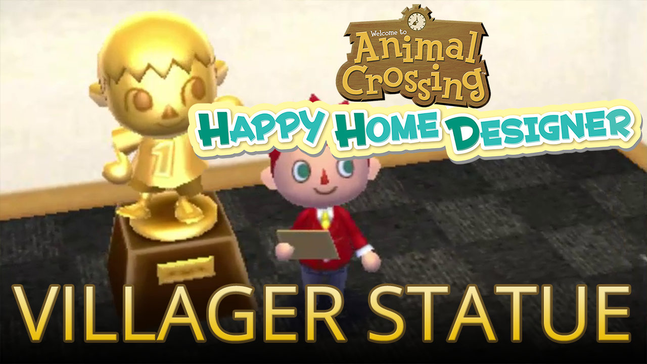 Video Unlocking The Villager Statue With Villager Amiibo In Animal Crossing Happy Home