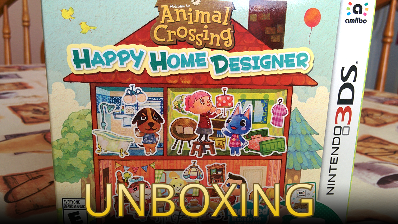 Video unboxing the animal crossing happy home designer - Animal crossing happy home designer bundle ...