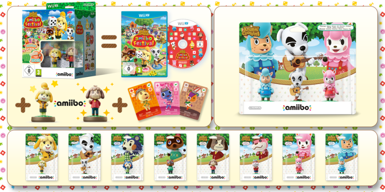 Animal Crossing Amiibo Festival Releasing In Europe On November 20th With An Amiibo Three Pack