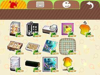 Happy Home Designer Filly Items