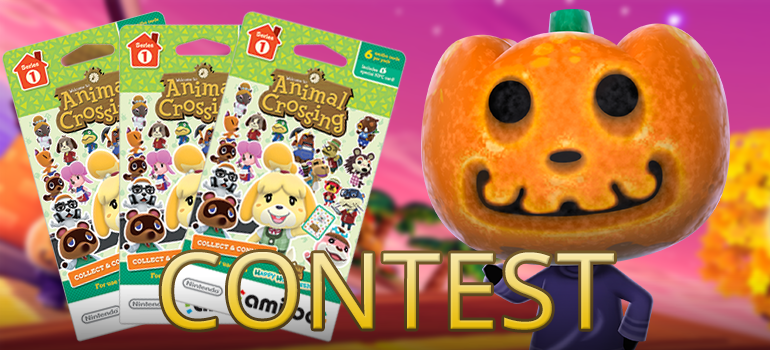 Animal Crossing: Happy Home Designer Halloween Design Contest With Prizes  From Nintendo! (CANADA ONLY)