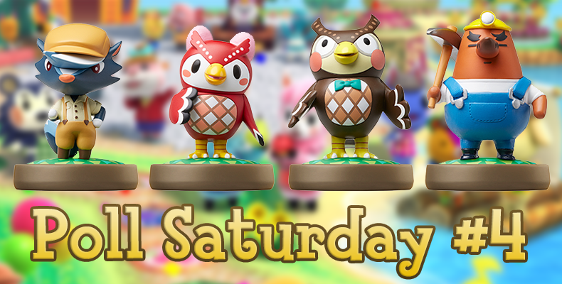 Poll Saturday Which Of The Second Wave Animal Crossing Amiibo Figures Do You Want Most