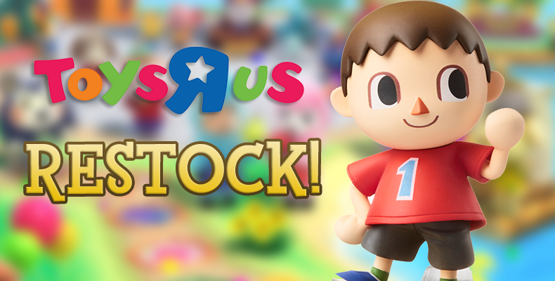 Significant Restock Of Villager Amiibo Figures Coming To Toys R Us In The United States In