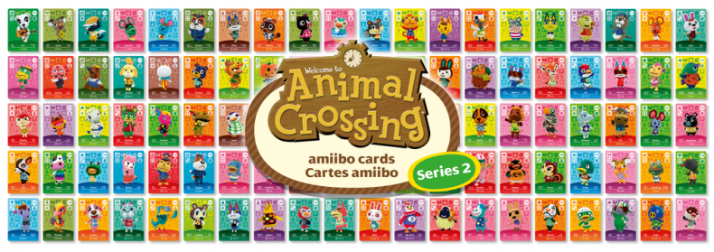 Animal crossing amiibo cards series two list for 7 11 happy home designer