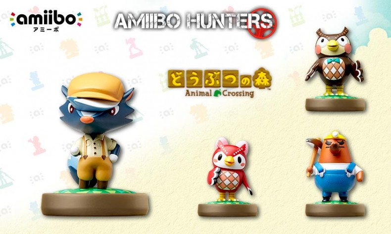 Animal Crossing Wave 2 Amiibo Figures Now Available For Pre Order At Play Asia Japan Animal
