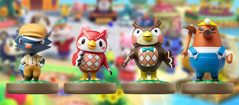 The Second Wave Of Animal Crossing Amiibo Figures Are Coming In January To North America And