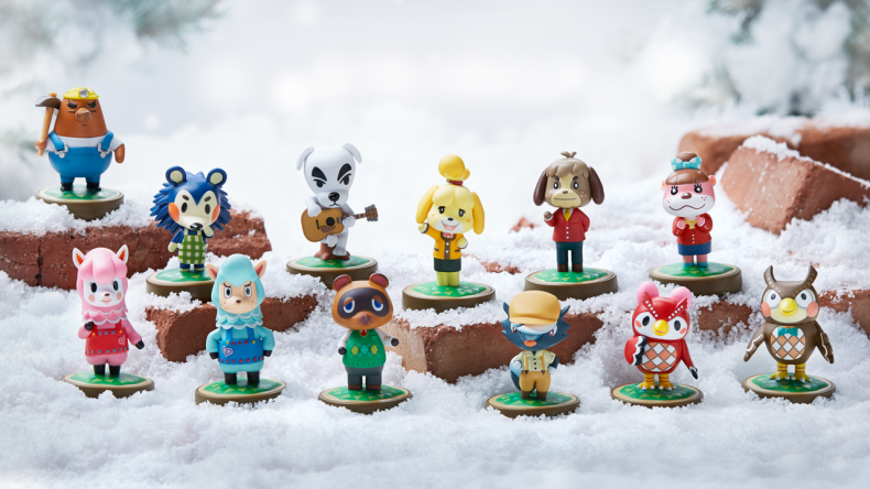 Animal crossing world news guides for happy home - Happy home designer amiibo figures ...