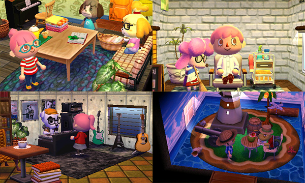 Get Some Design Inspiration For Your Animal Crossing Happy Home Designer Homes From Nintendo