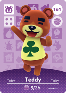 amiibo_card_AnimalCrossing_161_Teddy