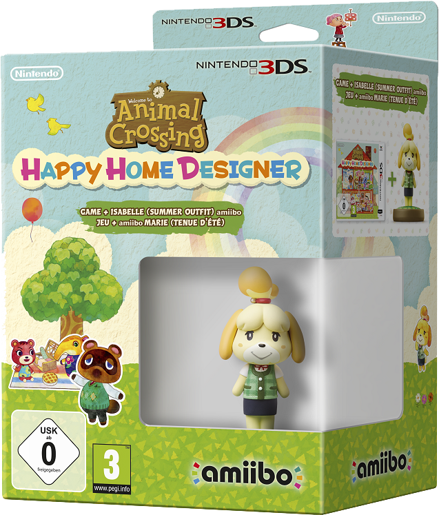 Four new upcoming animal crossing amiibo figures announced - Happy home designer amiibo figures ...