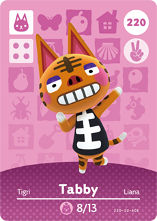 amiibo_card_AnimalCrossing_220_Tabby