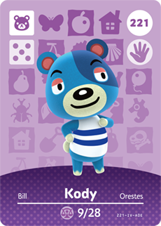 amiibo_card_AnimalCrossing_221_Kody