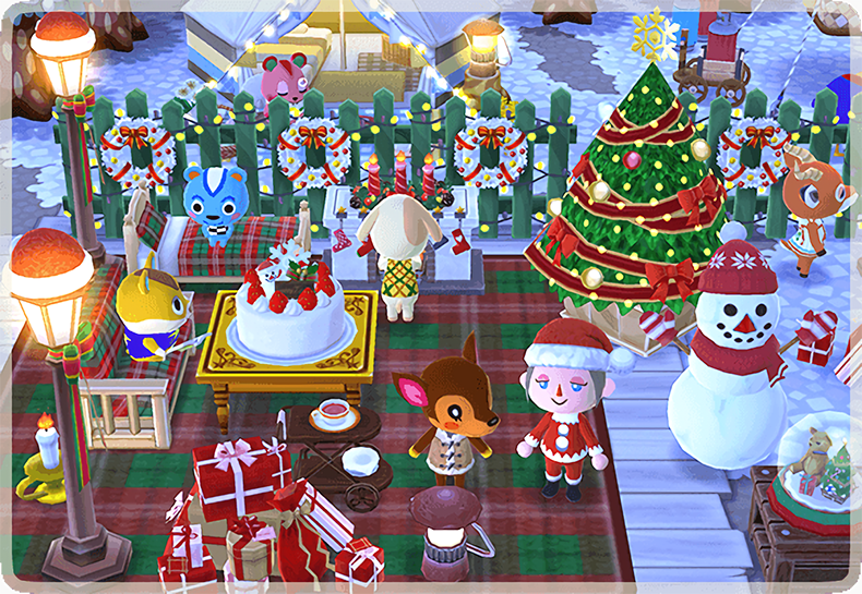 Pocket Camp Christmas 2020 Holiday / Christmas Event Complete Guide Animal Crossing: Pocket Camp