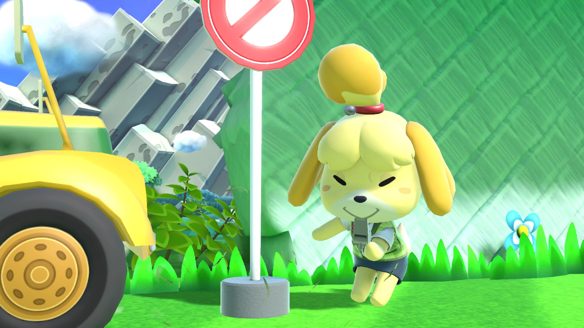 Isabelle Turns Over A New Leaf Joining The Fight In