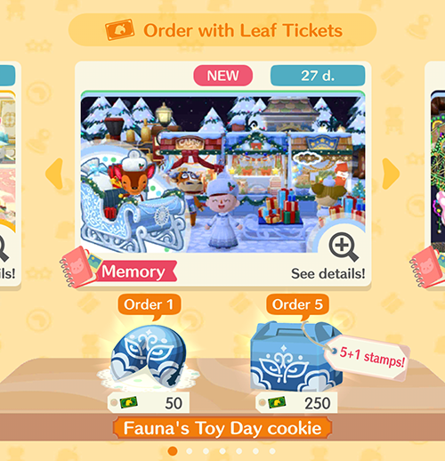 Image result for animal crossing pocket camp fortune cookies