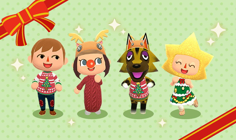 Pocket Camp Christmas 2020 Holiday / Christmas Gyroidite Scavenger Hunt #6 Pocket Camp Event